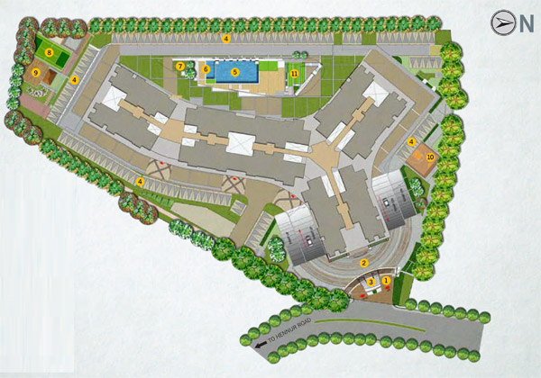 Apartment Site Plan